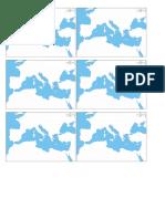 Mapa Cuenca Mediterráneo
