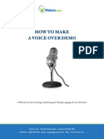How-To-Make-A-Voice-Over-Demo