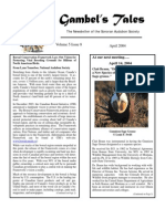 April 2004 Gambel's Tales Newsletter Sonoran Audubon Society