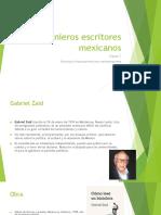 Ingenieros Escritores Mexicanos