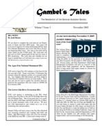 November 2005 Gambel's Tales Newsletter Sonoran Audubon Society