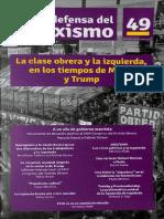 La Clase Obrera y La Izquierda en Los Tiempos de Macri y Trump