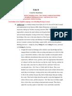 folio b narrative
