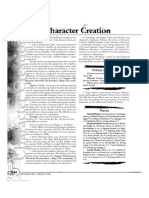 WoD Character Creation Rules