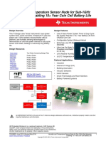 Cc1310 Humidity Sensor