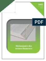 Dictionnaire Termes Financiers