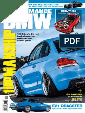 BLUE INDUCTION KIT AIR FILTER BMW E36 E46 E12 E30 Z1 Z3