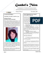 November 2007 Gambel's Tales Newsletter Sonoran Audubon Society