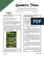 May 2007 Gambel's Tales Newsletter Sonoran Audubon Society