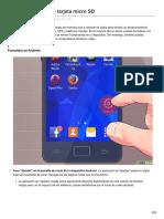 Cómo Formatear Una Tarjeta Micro SD