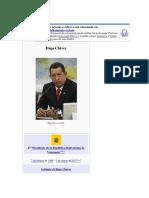 Hugo Chávez Resumen