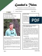 May 2008 Gambel's Tales Newsletter Sonoran Audubon Society