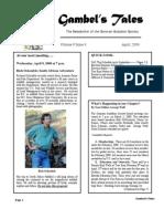 April 2008 Gambel's Tales Newsletter Sonoran Audubon Society