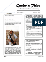 February 2008 Gambel's Tales Newsletter Sonoran Audubon Society