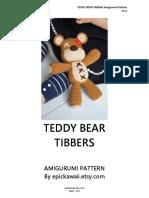 Tib Be Rs Teddybear Bye Pick a Waii
