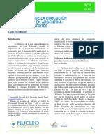 Rasetti - La Expansion de La Educacion Universitaria en Argentina