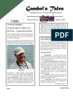 January 2008 Gambel's Tales Newsletter Sonoran Audubon Society