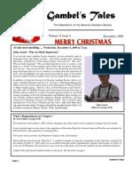 December 2009 Gambel's Tales Newsletter Sonoran Audubon Society