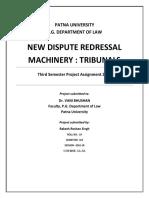 Tribunal System in India