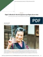 'Ikigai'_ La Filosofía de Vida de Los Japoneses Que Llegan a Los 100 Años _ BuenaVida _ EL PAÍS