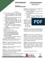 ENTRENAMIENTO 11 factorización