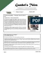 March 2010 Gambel's Tales Newsletter Sonoran Audubon Society