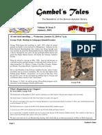 January 2010 Gambel's Tales Newsletter Sonoran Audubon Society