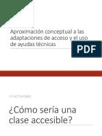 Tema 1. Conceptualización Adaptaciones de Acceso