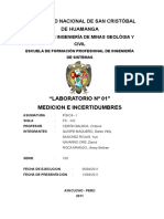 Mediciones e Incertidumbre