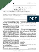 Análisis Del Protocolo de Pasos Adaptados en La Rehabilitación Cardíaca en La Fase Hospitalaria