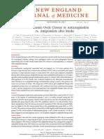 Patent Foramen Ovale Closure or Anticoagulation