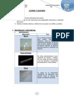 Informe 4 Inorganica Azufre y Sulfuros