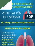 1.- VENTILACION PULMONAR