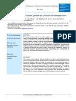 Articulo de Investigación de Cinetica Quimica