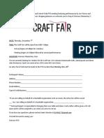 PTO Craft Fair