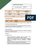 Pca Investigacion Ciencia y Tecnologia 3ero Bachillerato