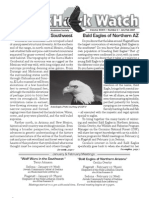 January-February 2007 Wingtips Newsletter Prescott Audubon Society