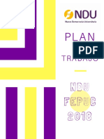 Plan NDU Fepuc 2018