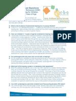 Otoacustic emissions FAQ