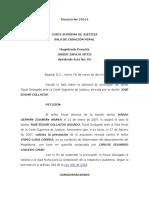 Proceso No 27014 2007