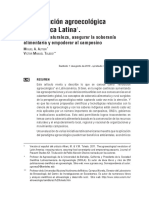 La Revolución Agroecológica de América Latina