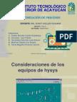 Produccion de Etanol en  Hysys