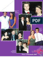 St Mary's, Year 12 formal, 2007