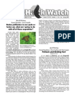 March-April 2009 Wingtips Newsletter Prescott Audubon Society