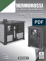 Manuale Di Installazione Uso e Manutenzione - Bosky Chef