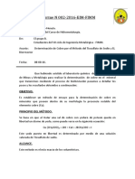 1 Informe N 002 Biolixiviacion Factorizacion de Cobre Grupo b