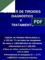 CÁNCER  DE TIROIDES 12 - copia.ppt