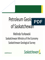 Yurkowski - Petroleum Geology of Sask