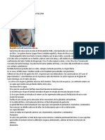 Biografía Corta de Santa Rosa de Lima
