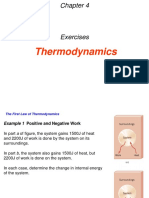 4 Thermodynoamics Exercises